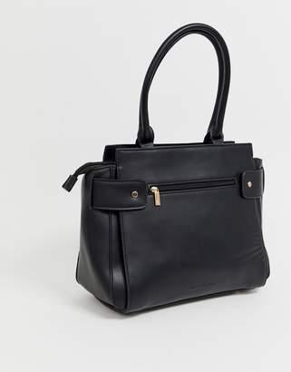Melie Bianco structured tote bag