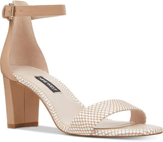 5e3d93bd67e Nine West Nude Heels - ShopStyle