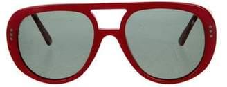 Celine Polarized Aviator Sunglasses