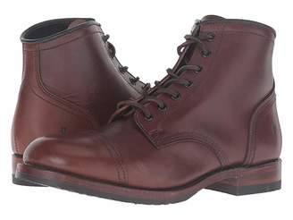 Frye Logan Cap Toe Cowboy Boots