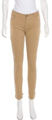 Claudie Pierlot Mid-Rise Skinny Pants