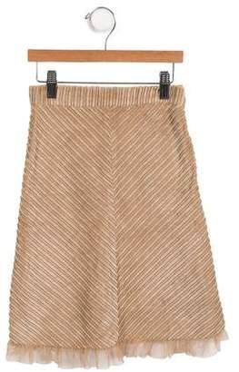 MonnaLisa Girls' Corduroy Skirt