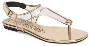 Calvin Klein Shilo Clear Strap Sandal