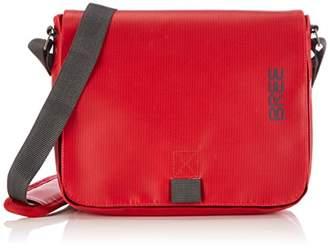 Bree Punch 61, Red, Shoulder Bag, Unisex Adults' Hobos and Shoulder Bag,(B x H x T)