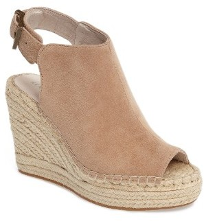 Women's Kenneth Cole New York 'Olivia' Espadrille Wedge Sandal $129.95 thestylecure.com