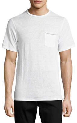Rag & Bone Men's Owen Cotton Pocket Crewneck T-Shirt