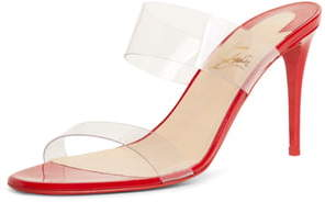 Christian Louboutin Just Nothing Slide Sandal