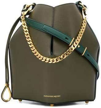 Alexander McQueen chunky chain shoulder bag
