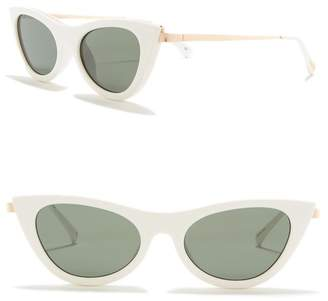 Le Specs Enchantress 47mm Retro Sunglasses