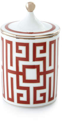 Richard Ginori 1735 Labirinto Scented Candle, Red