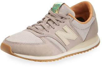 New Balance 420 Mesh Low-Top Sneaker, Gray $119.95 thestylecure.com