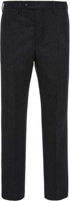 Officine Generale Classic Pinstripe Flannel Trousers
