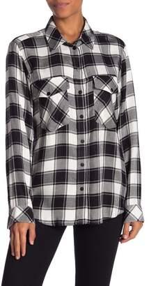Sanctuary Boyfriend Plaid Shirt