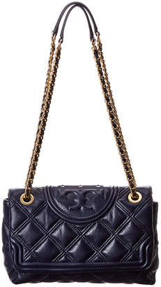 Tory Burch Fleming Soft Convertible Leather Shoulder Bag