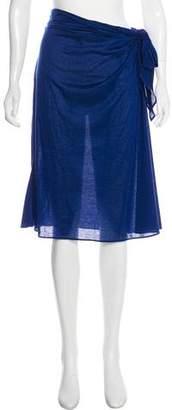 Eres Wrap Around Maxi Skirt w/ Tags