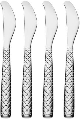 Alessi Colombina Fish Butter Knife - Set of 4