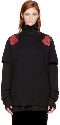 Marcelo Burlon County of Milan Black Apleng T-Shirt