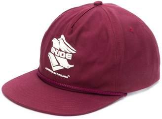 Rhude logo patch cap