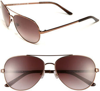 Women's Kate Spade New York 'Avaline' 58Mm Aviator Sunglasses - Brown/ Brown Gradient $160 thestylecure.com