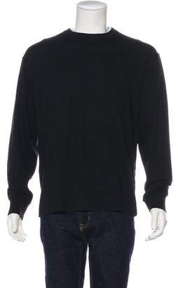 Brunello Cucinelli Woven Crew Neck Sweater