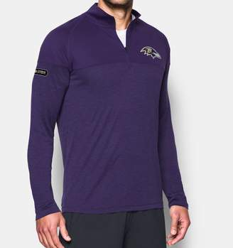 Under Armour Men's NFL Combine Authentic UA Tech Twist Zip Long Sleeve Shirt