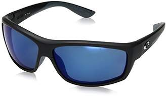 Costa del Mar Saltbreak Polarized Iridium Wrap Sunglasses