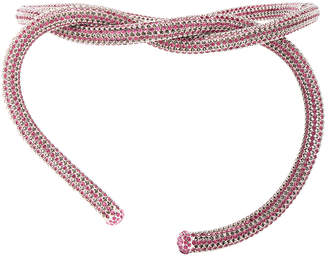 Calvin Klein Crystal Rhinestone Belt with Clasp