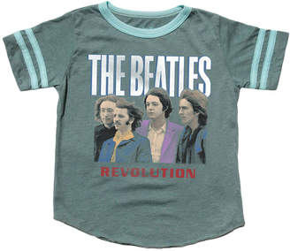 Rowdy Sprout The Beatles Varsity Tee - Green, Size 6-12 month