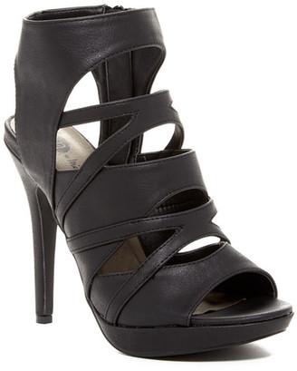 Michael Antonio River Caged Heel Sandal $49 thestylecure.com