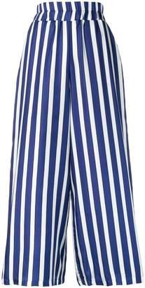 Altea wide leg striped trousers