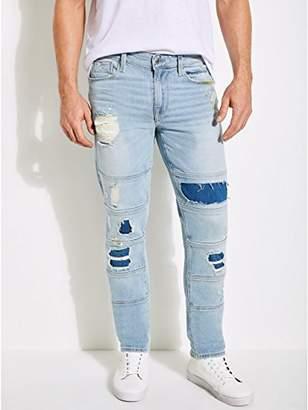 GUESS Men's Multi-Stitch Slim Tapered Jean