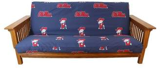 NCAA College Covers Box Cushion Futon Slipcover Team: Mississippi
