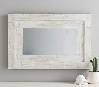 Pottery Barn Kids Large Weathered Frame Mirror