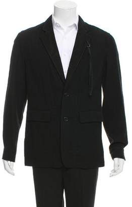Ann Demeulemeester Deconstructed Wool Jacket w/ Tags