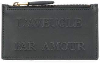 Gucci L'Aveugle Par Amour embossed card case