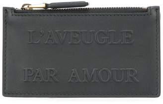 Gucci L'Aveugle Par Amour embossed card case