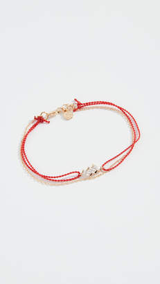 Cloverpost Stone Baguette String Bracelet