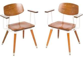 Mid-Century MODERN Pair of Hill-Rom Company Armchairs