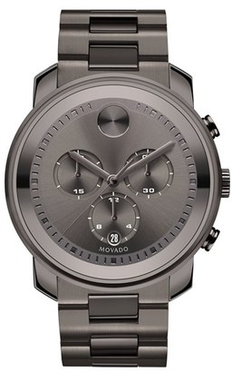 Men's Movado Bold Chronograph Bracelet Watch, 44Mm $995 thestylecure.com