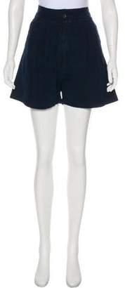 Rachel Comey High-Rise Mini Shorts