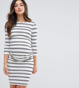 Asos Twin Stripe Bodycon Dress