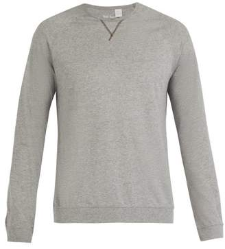 Paul Smith Crew Neck Cotton Jersey Pyjama Top - Mens - Grey