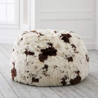 adf195f67d79 Pottery Barn Teen Pony Faux-Fur Beanbag