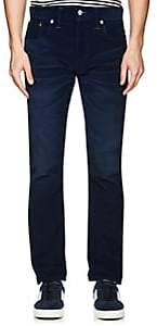 Rrl Men's Cotton-Blend Corduroy Slim Trousers-Blue Size 40w 32l