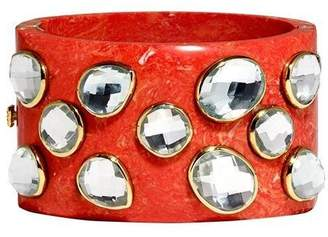 Mela Artisans Harvest Moon in Coral Bangle