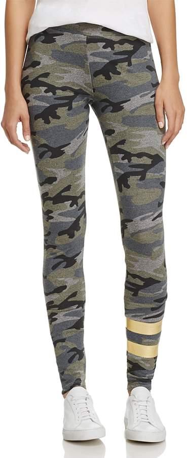 Stripe & Camouflage Yoga Leggings