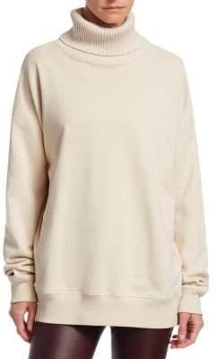 Helmut Lang Cotton Turtleneck Sweatshirt