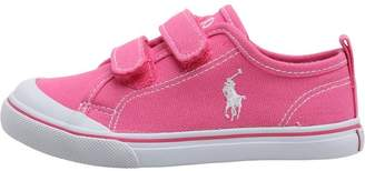 Ralph Lauren Infant Girls Karlen EZ Canvas Trainers Fuchsia