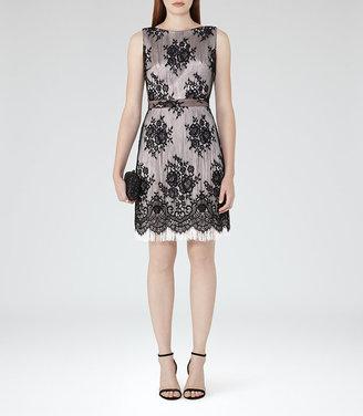 Eleonora Lace And Fringe Dress $425 thestylecure.com