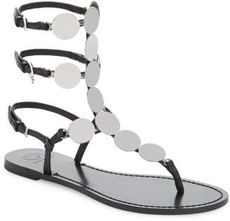 Tory Burch Patos Disk Gladiator Sandal